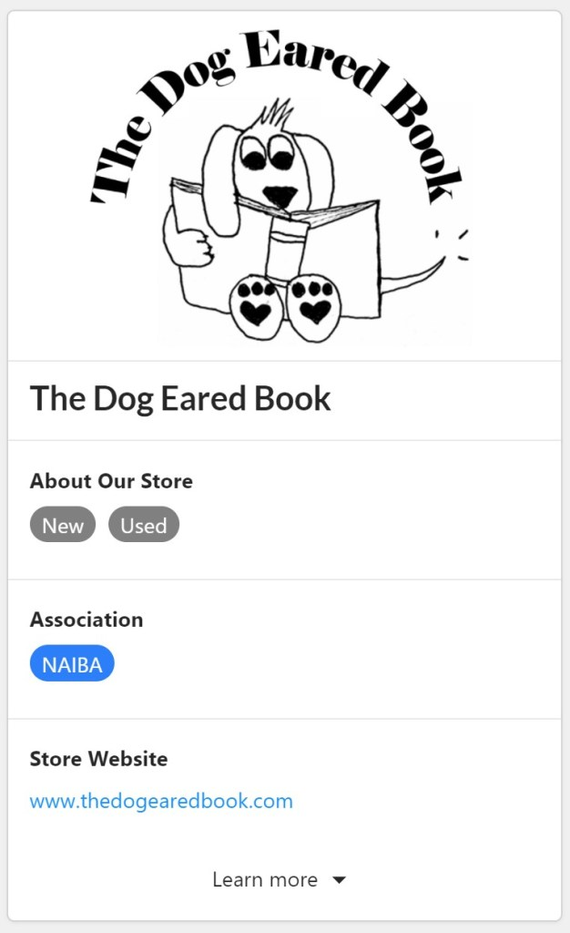 The Dog Eared Book